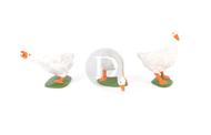Preiser 47080 - 3 Oies miniatures 1:25