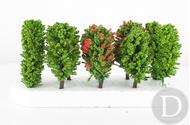 JORD-7 - 10 arbres feuillus 5.5 cm 1:87