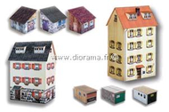 Heki 11003 - Lot de 6 Maisons 1:160