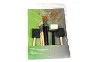 Set de Pinceaux plats, rouleaux, éponges synthétiques - Artino 561806