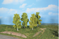 Végétation miniature : Bouleaux 11 cm - Heki 19120