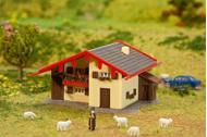 Bâtiment miniatures : Chalet alpin - 1:160 N - Faller 232538