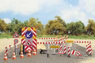 Busch 6048 - Set d'équipements pour chantiers travaux publics 1:87 - HO
