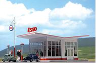 Busch 1005 - Station Essence ESSO 1:87 - HO