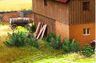 Végétation miniature :  Orties -  1:87 - Noch 14138