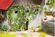 Végétation miniature :  Plante grimpante  -  1:87 - Noch 14132