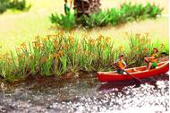 Végétation miniature :  Iris de marais -  1:87 - Noch 14140