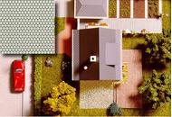 Busch 7036 - Plaques de décor pavés, HO- 1:87, TT