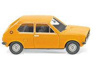 Voiture miniature VW Polo jaune - Wiking 3649