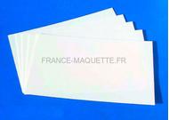 Feuilles plastique 190 x 110 x 2 mm - 1:35 - Plus model 124
