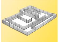 Barrières miniatures 1:87