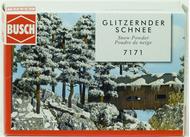 Décor pour paysages miniatures : Poudre de neige étincelante - Busch 07171 - diorama.fr