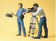 Preiser 57104 - ingénieur du son et cameraman 1:24