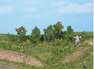 Végétation miniature : Pommiers 4 cm - Heki 19131