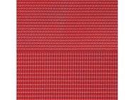 Plaque de toit en tuiles rouges : 1:160, N