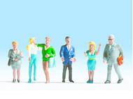 Figurines miniatures : Figurines miniatures de passants - 1:87 - Noch 15520