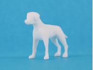 Chien miniature 2 cm 1:50