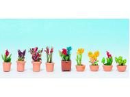 Végétation miniature : Plantes et fleurs, petits pots - 1:87 - Noch 14080