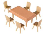 4 Tables et 24 Chaises - 1:87 H0 - Faller 180442
