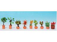 Végétation miniature : Plantes, grands pots - 1:160 - Noch 14082