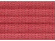 Mur  en brique rouge - 1:22,5 - G