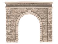 Décors miniature : Entrée de tunnel en pierre naturelle, une voie - 1:87 - Noch 58061