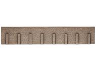 Décors miniature : Mur de soutènement en pierre naturelle - 1:87 - Noch 58066