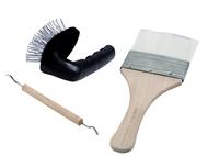 Set de 3 outils à sculpter des rochers - Woodland C1185