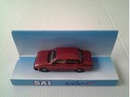 Voiture miniature : Peugeot 505 berline rouge métallisé - SAI- 03266
