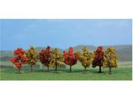 Heki 1141 – 8 arbres d'automne – 4 cm
