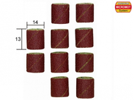 10 bandes abrasives en corindon ø 14,0 mm - PROXXON 28979
