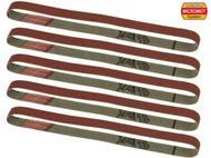 5 bandes de ponçage de rechange pour BSL 220/E grain 80 - PROXXON 28583