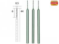 3 forets HSS en acier ø 0,5 mm - PROXXON 28864