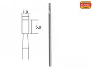 Embout de meulage diamanté - tige ø 1,8 mm - PROXXON 28240