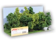 12 arbres miniatures feuillus 11 - 13 cm, Heki 1995