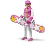 Snowboardeuse 10.5 cm - Bruder 60420