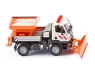 Maquette camion : Chasse-neige Unimog U 20 - 1:87 - Wiking 646-06