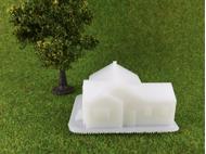 Maison miniature Grenoble 1 :160