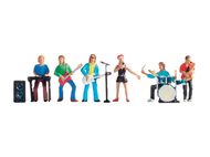 Figurines miniatures : Musiciens rock - Noch 15839