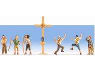 Noch 45874 - Randonneurs avec croix, pellerins 1:120