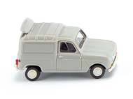Renault R4 camionette grise - Wiking 225-01