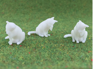 Chat miniature 21 mm 1:25