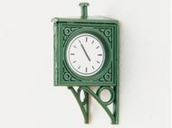 Horloge miniature de gare victorienne 1:87