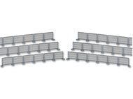 Barrières miniatures 1:87, ho - Kibri 38649
