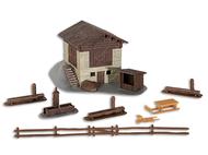 Maquette de Chalet de montagne miniature 1:87, ho - Kibri 38812