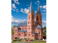 Bâtiment miniatures : Église style 'Roman' - HO 1:87 - Kibri 39760