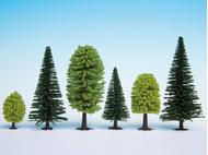 10 arbres miniatures Forêt mixte, 5-14 cm de haut - Noch 26911