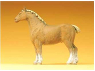 Cheval de trait miniature - Preiser 47024