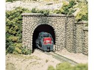 1 entrée de tunnel miniature en pierre de taille