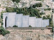 Mur de soutènement en béton -  Woodland C1158